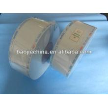 Carrete de vapor estéril para uso hospitalario y dental (papel chino o papel francés)