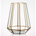Geometric Glass House Terrarium Container for Decor