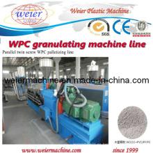 ¡Nuevo! Máquina de granulación de WPC / WPC Línea de peletización
