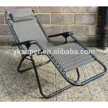 OEM Metal ajustável cadeira fácil Cheap dobrável Deck Cadeiras