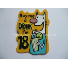 Promotional Gift Soft PVC Fridge Magnet (FM-07)