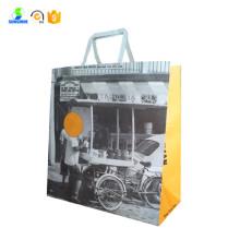 Белая хозяйственная сумка из крафт-бумаги