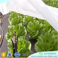 Tejido no tejido PP Spunbond para agricultura y protección de cultivos