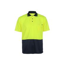 100% Polyester Reflektierendes Sicherheits-T-Shirt