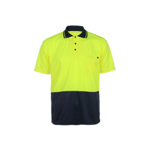 Hi-Vis Reflective Safey Shirt Short Sleeve
