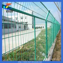 Cerca de malla de alambre soldado con autógena galvanizada (Changte)