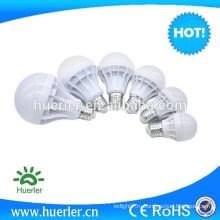 3w 5w 7w 9w 12w 15w 220v A-тип классический пластиковый корпус колпачок E27 B22 база светодиодная лампа энергии