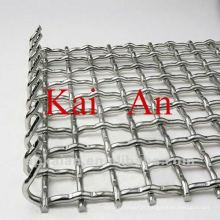 Maille de cage d'animaux en acier inoxydable galvanisé