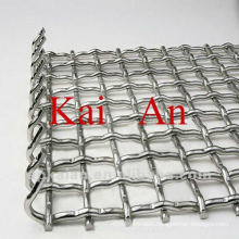 Galvanised stainless steel animal cage mesh