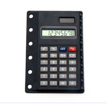 8 Digits Super Thin Dual Power Calculator with Ruler Card