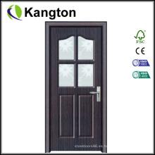 Puerta interior de madera con MDF y PVC (puerta de PVC)