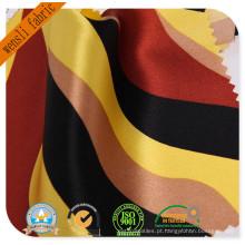 Tecido de seda de 100% tecido de cetim de seda para as mulheres vestido de impressão