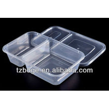 пластичная устранимая прессформа коробки свежий