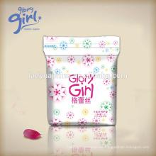 Diseño único Super Soft Pads Sanitary Napkin of Glory marca de la niña