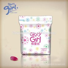 Unique Design Super Soft Pads Sanitary Napkin of Glory girl brand