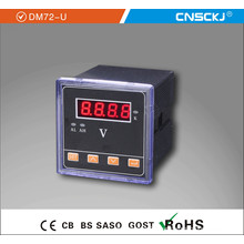2014 Newest High Degree of Accuracy Single Phase Voltmeter Dm9648-U