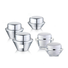 UFO Shape Acrylic Cream Jars for Cosmetic Packaging