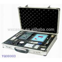 caso de alumínio portátil para instrumento do fabricante de China