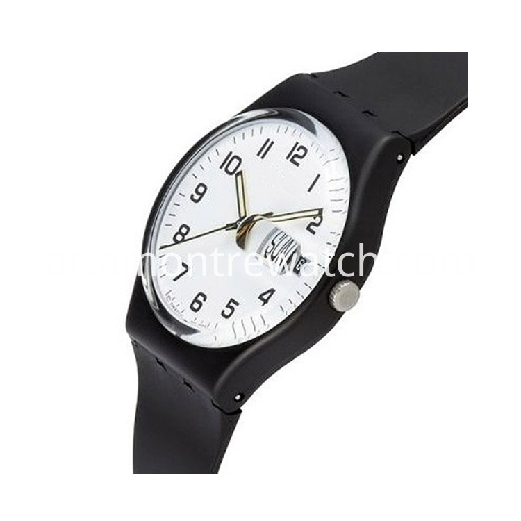 Plastic Bezel watch