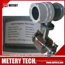 304 Stainless Steel Food Industry Milk Flowmeter Flow Meter