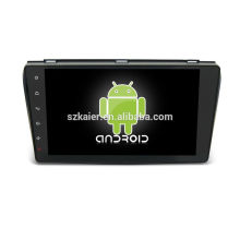 Quad core! Android 6.0 car dvd for MAZDA 3 with 9 inch Capacitive Screen/ GPS/Mirror Link/DVR/TPMS/OBD2/WIFI/4G