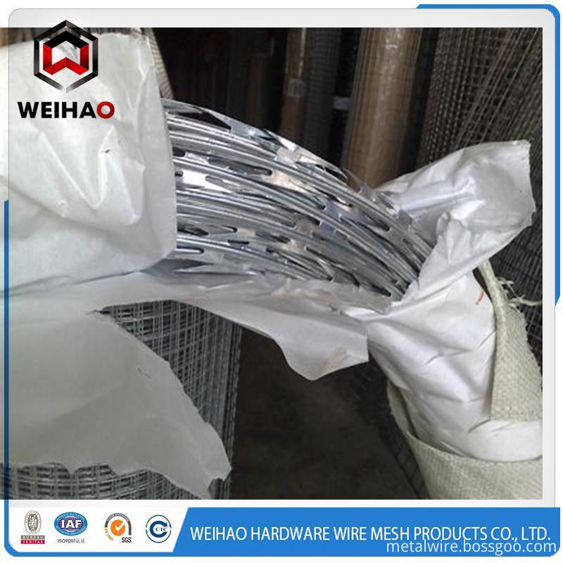 razor barbed wire A