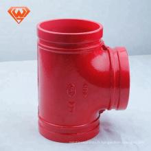 Raccords en fonte ductile pour tuyaux tous les tés à douille