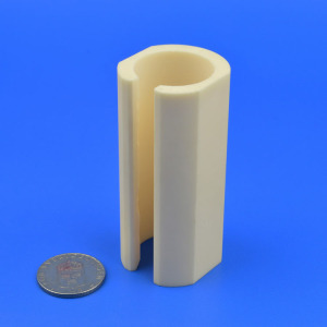 Half Round Alumina Protection Tube