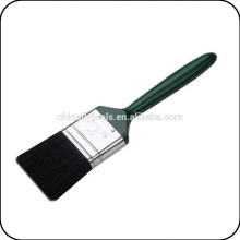 black plastic handle paint brush