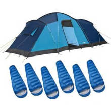 Outdoor Double-Layer Waterproof Camping Tent