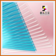 Transparent Hollow Polycarbonate Sheet for Car Canopy/Tent/Awning/Shelter