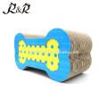 Arco Cromática Dot cor Nicely Cat Scratcher Pet brinquedo ósseo Ecológico CT-4010