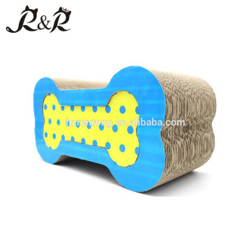 Arc Chromatic Dot colour Nicely Cat Scratcher Pet toy Bone Eco-Friendly CT-4010
