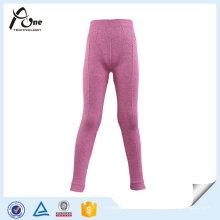 Pantalon de sport de sous-vêtements en nylon d'enfants d'élasthanne fait sur commande