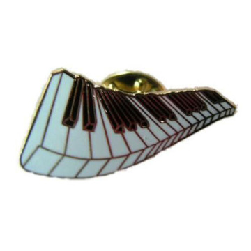 Excellent quality Silver Piano Lapel Pins