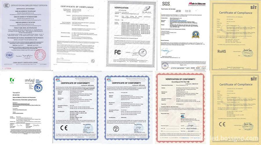 UL CCC RoHS CE certified