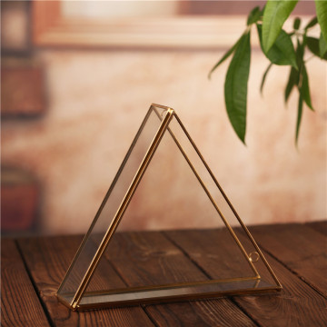 Modern Artistic triangle Hanging Glass Terrarium