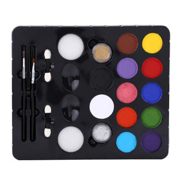 Face Paint Kit with stencils brush and sponges