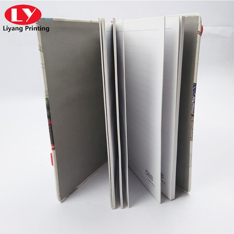 children notebook with Elastic belt