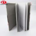 School children notebook with CMYK elastic belt