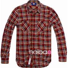 80 S 100 fio de algodão tingido tecido atacado para camisa de seleção casual (impresso padrão como o cliente necessário) camisa tecido
