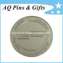 3D de aleación de zinc Die-Casting recuerdo de níquel moneda (coin-082)