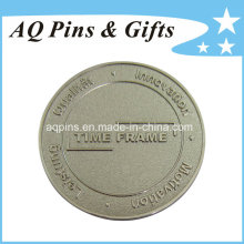 Pièce en nickel souvenir à découpe en zinc en alliage de zinc 3D (pièce 082)