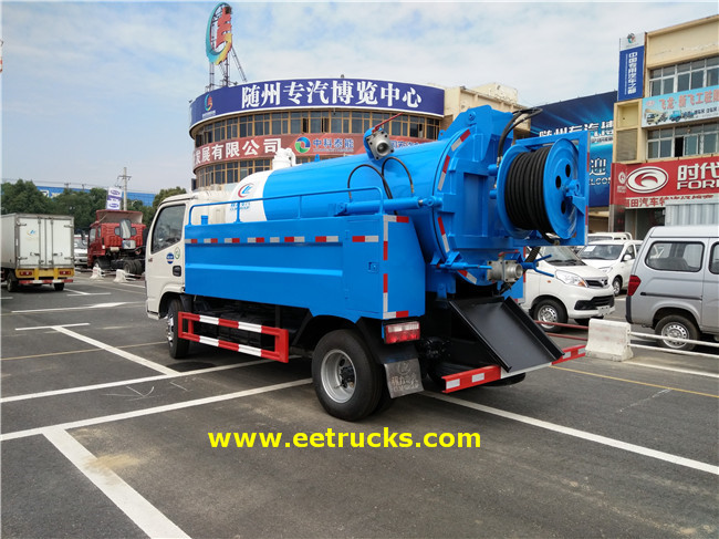 Sewage Suction Tanker