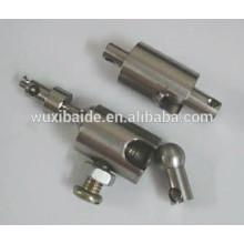 OEM precisão cnc usinagem torneamento fresamento 5/4/3 AXIS alumínio / aço / latão peças