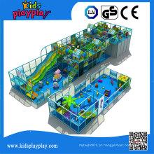 Kidsplayplay Grande Área Multifuncional Crianças Brinquedos Indoor Playground para Venda