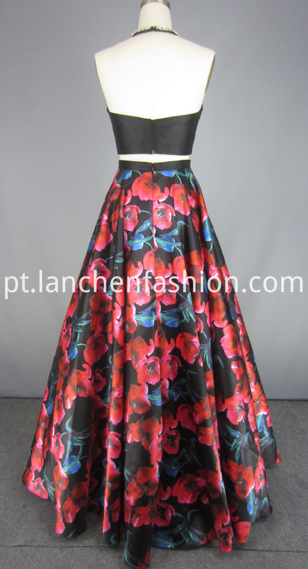 Prom Dress Floral