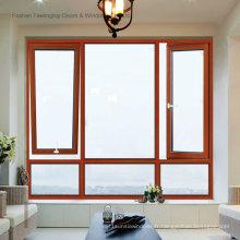 Fenêtres à battant en aluminium enduit de poudre (FT-W80)