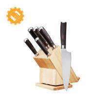Set de couteaux de cuisine Yangjiang Gold Manufacturer 6pcs à prix compétitif