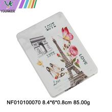 Beauty care square folding pocket mirror